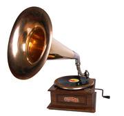 старинный рабочий граммофон на подарок